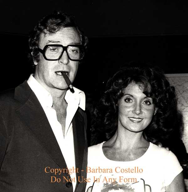 Las Vegas New York Entertainer Barbara Costello Michael Caine Movie Photo